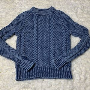 LL Bean Signature Cable Knit Sweater